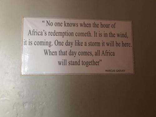 Marcus Garvey Sign