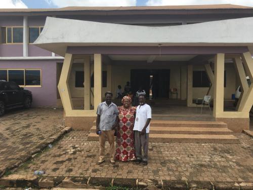 Sefwi Chief Visit
